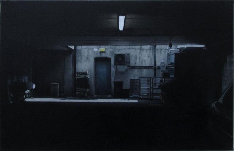 Goldstone Court 40x60cm